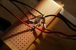 Qfn dead bug soldering is very possible.